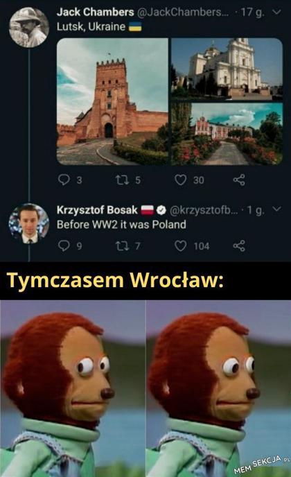 Przed II Wojną Światową to była Polska