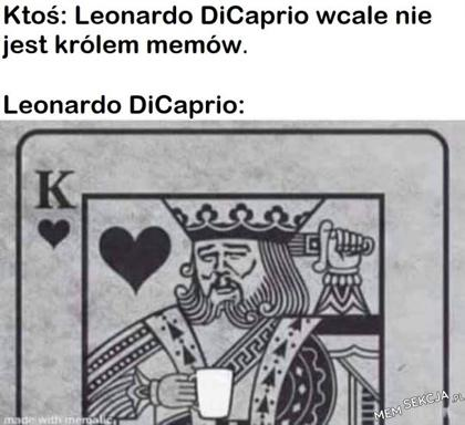 Jest królem memów