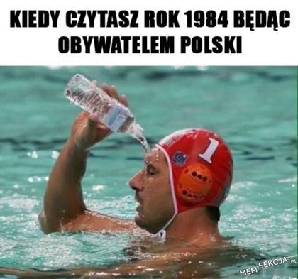 Czytanie 1984 mieszkając w Polsce