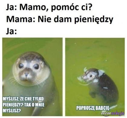 Mamo, pomóc ci?