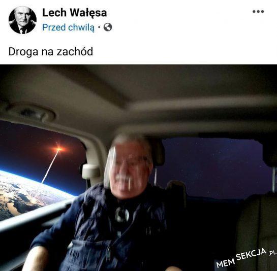 Lech Wałęsa w kosmosie