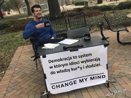 Demokracja to taki system