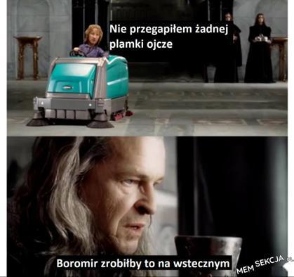 Boromir to był gość