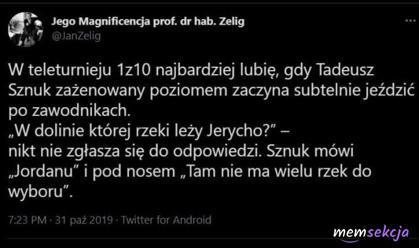 Subtelna jazda po zawodnikach 1z10