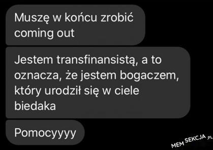 mój coming out