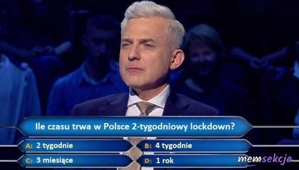 Ile czasu trwa w Polsce 2-tygodniowy lockdown