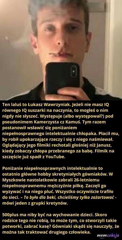 Kilka słów o Łukaszu Warzyniaku