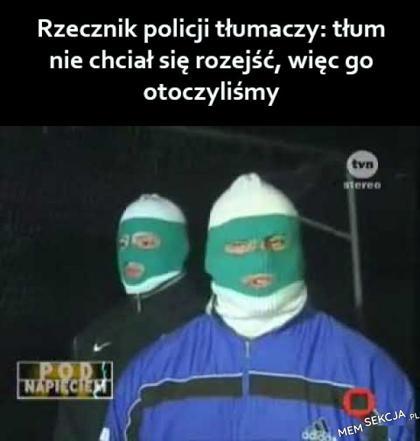 rzecznik policji tłumaczy