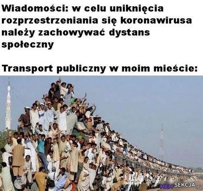 Transport publiczny w moim mieście