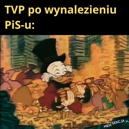 TVP po wynalezieniu PiSu