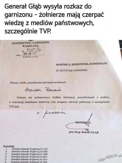 Źródło pozyskiwania informacji medialnych - TVP Info