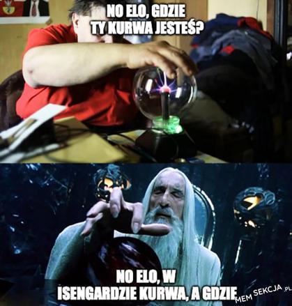 W Isengardzie, a gdzie?