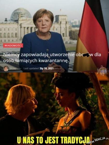 Tradycja w Niemczech