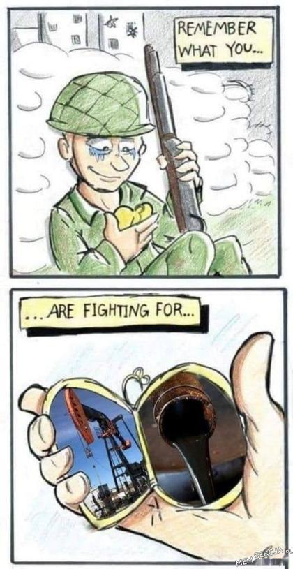 Pamiętaj o co walczysz