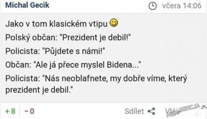Czeski mem o Dudzie