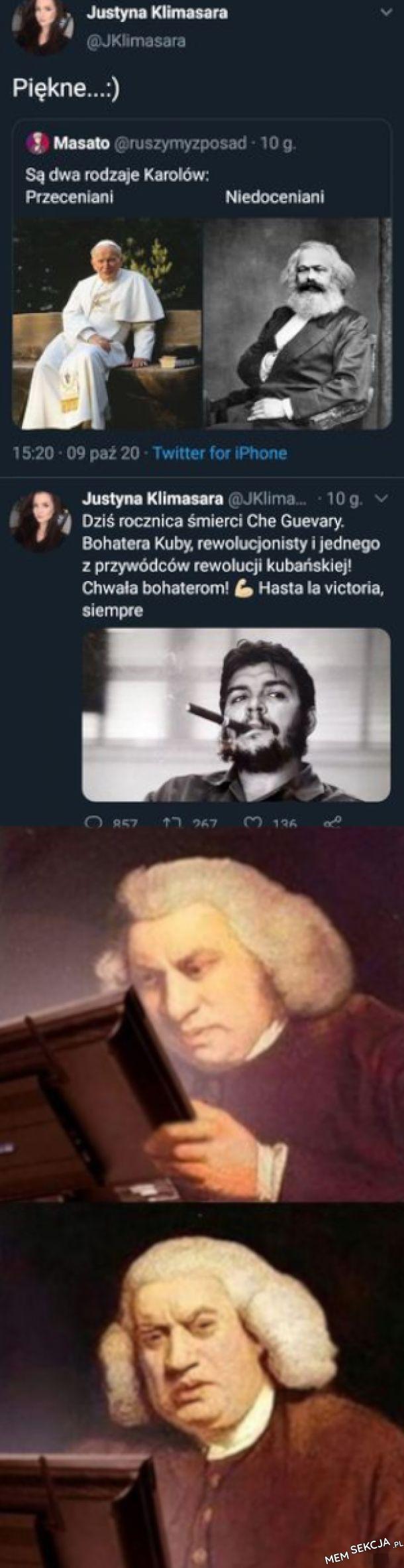dwa rodzaje Karolów