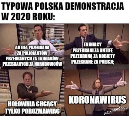 polska demonstracja