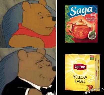 Lipton jako dobro luksusowe