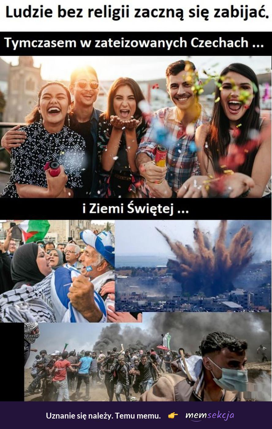 Czechy vs Ziemia Święta. Memy. Czechy