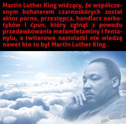 Martin Luther King przewraca się w grobie