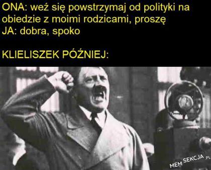 Weź się powstrzymaj od polityki