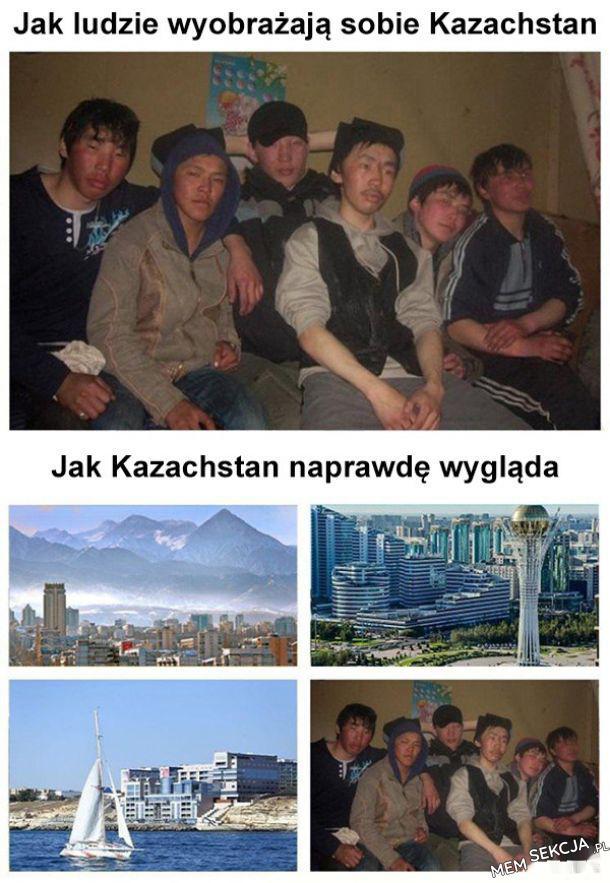 Jak ludzie wyobrażają sobie kazachstan