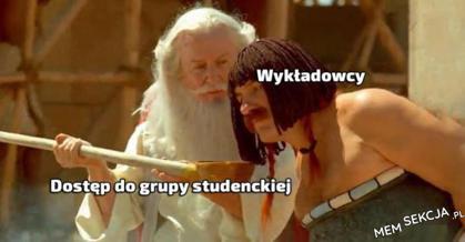 Dostęp do grupy studenckiej dla każdego wykładowcy