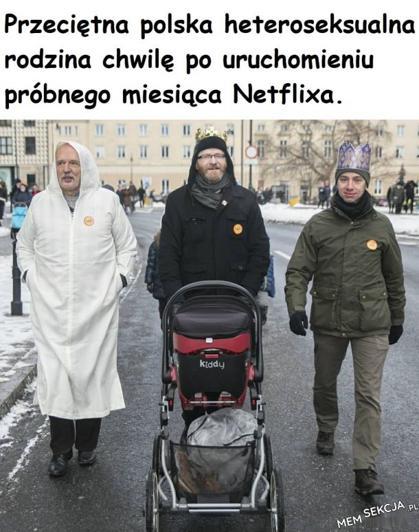 Przeciętna polska heteroseksualna rodzina