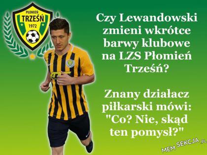 Czy Lewanadowski zmieni barwy klubowe?