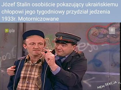 Stalin i ukraiński chłop