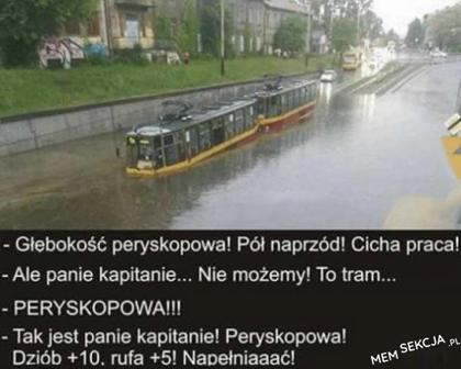 Podwodny tramwaj