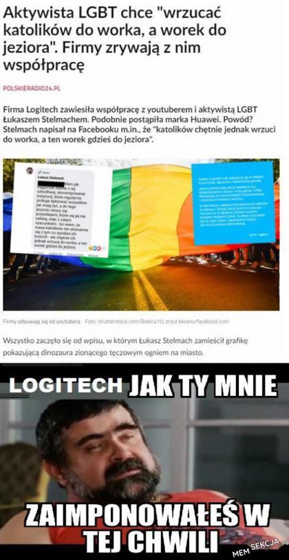 Aktywista LGBT chce wrzucać katolików do wora, a wór do jeziora