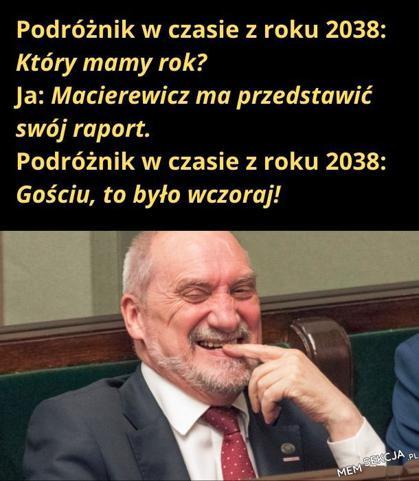 Macierewicz i jego raport