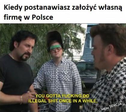 Gdy zakładasz firmę w Polsce