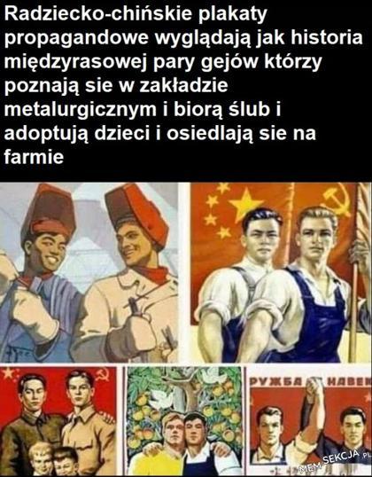 radzieckie plakaty