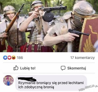 Rzymianie broniący się przed melchitami