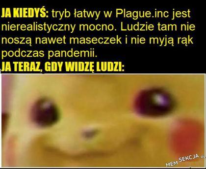 Kiedyś myślałem że tryb łatwy w plague jest nierealistyczny
