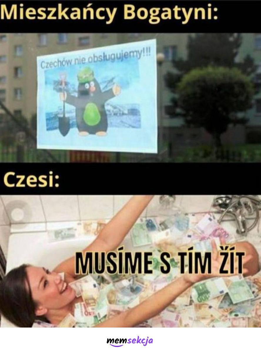 Mieszkańcy Bogatyni kontra Czesi. Śmieszne. Czechy. Czeskie. Bogatynia