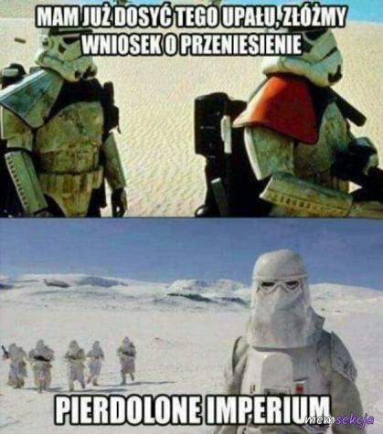 Cholerne imperium. Memy Star Wars