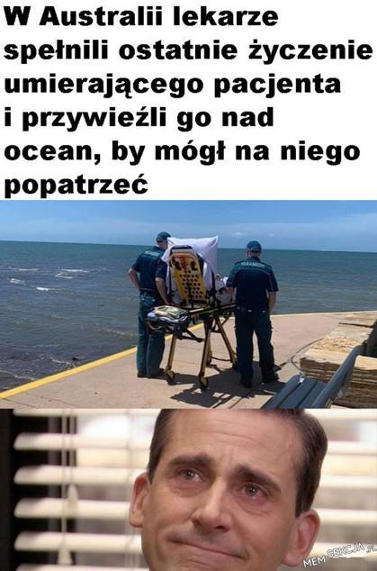Historia, która wyciska łzy