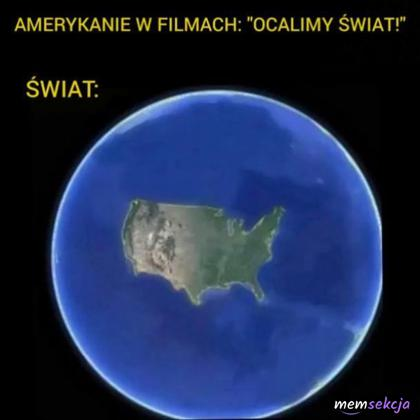 Świat według Amerykanów