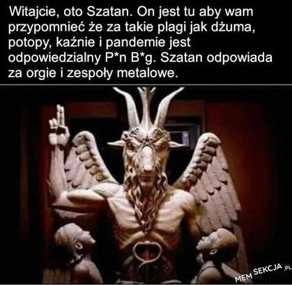 Szatan przypomina