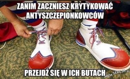 Buty antyszczepionkowców