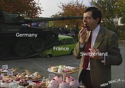 """""""Neutralność"""" Szwajcarii w czasie II Wojny Światowej"""