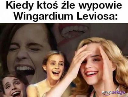 Mówi się Leviosaaaaaa