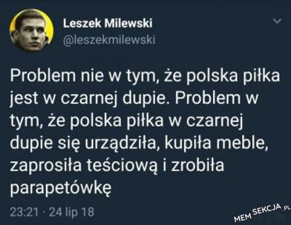Jaki jest problem z Polskąpiłką?
