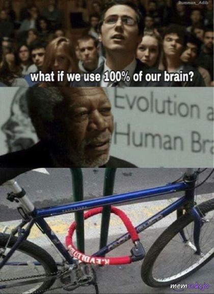 100% mózgu wykorzystane