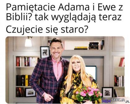 Tak teraz wyglądają Adam i Ewa z Biblii