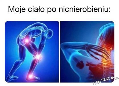 Ból nicnierobienia