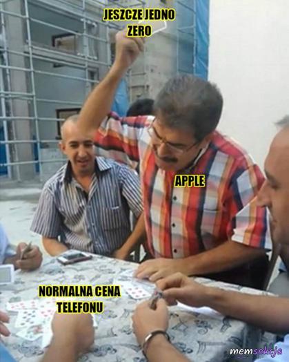Apple vs normalna cena telefonu